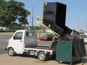 Tipping Hopper (up to 5' tall dumpster std) 2 yd/1,000 lb.