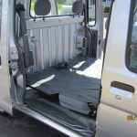 Rear Seat folds forward