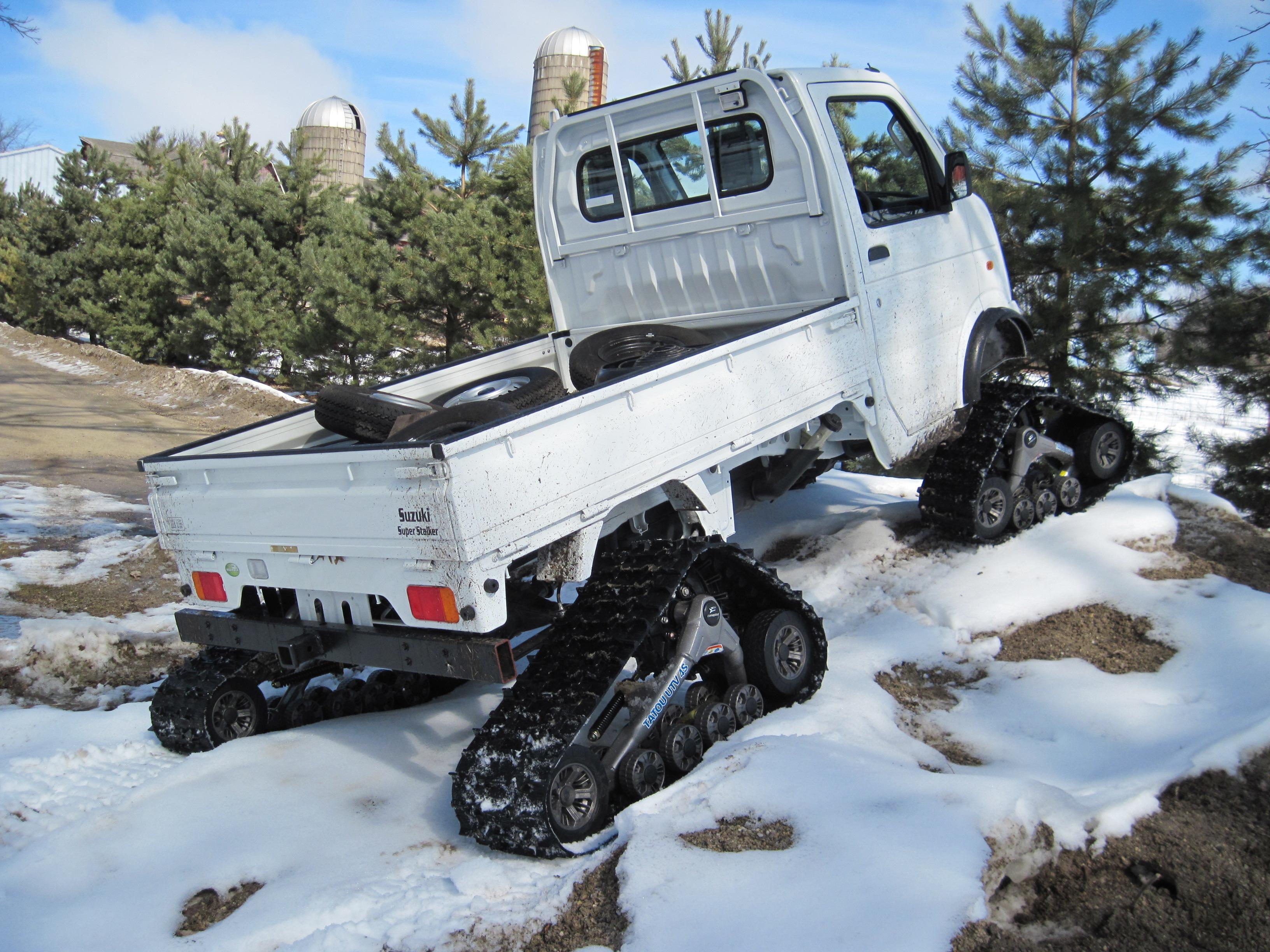 Truck Snow Tires >> Track Systems – Woodys Mini Trucks